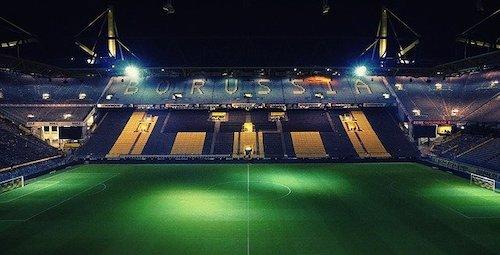 Fussballstadion der Borussia