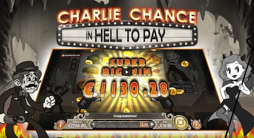 Spielautomat Charly Chance in Hell to Pay von Play'n Go