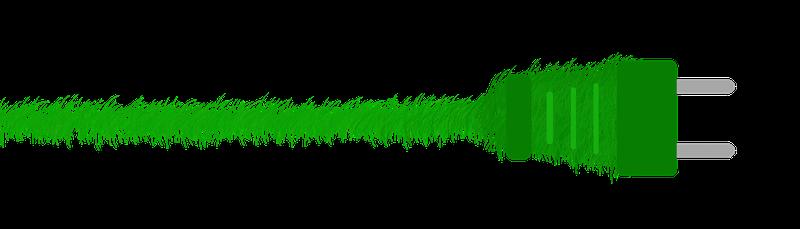 Grüner Strom als Beispiel für gelebte Nachhaltigkeit