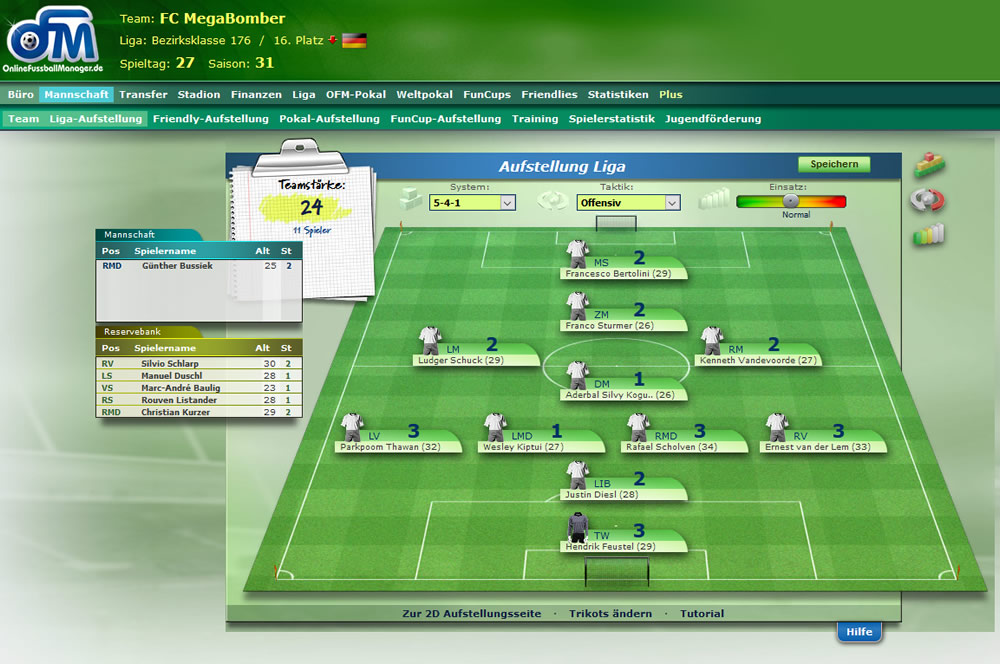 FuГџball Online Manager