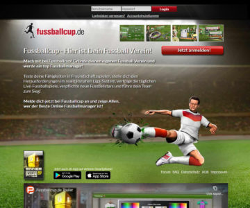 Fussballcup slider image 1
