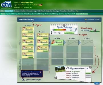 Online Fussball Manager slider image 5