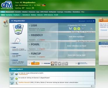 Online Fussball Manager slider image 2