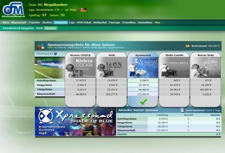 Online Fussball Manager slider image 6