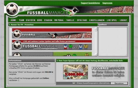Fussballmanager slider image 11