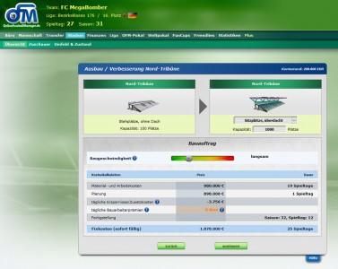 Online Fussball Manager slider image 10