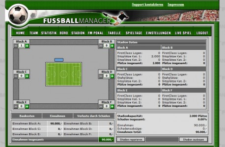 Fussballmanager slider image 10