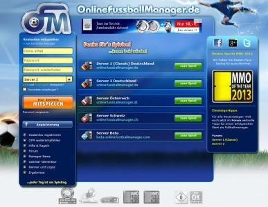 Online Fussball Manager slider image 1