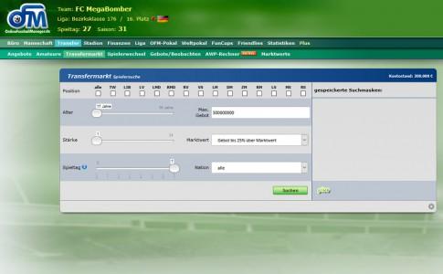 Online Fussball Manager slider image 8