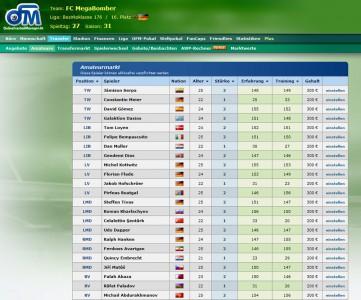 Online Fussball Manager slider image 7