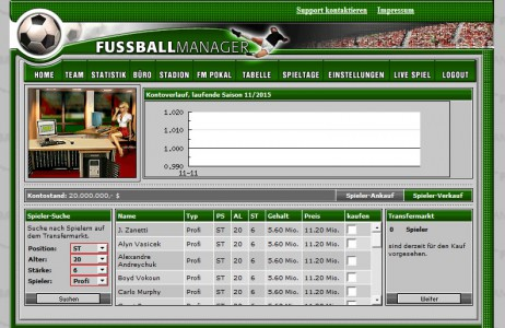 Fussballmanager slider image 7